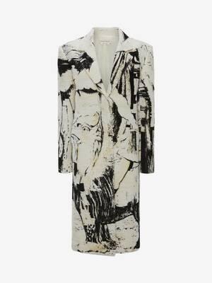 William Blake Dante Jacquard Coat