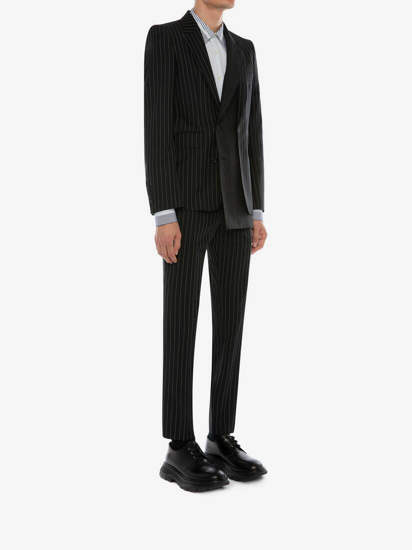 Display a large version of the product image 3 - Trompe-l'œil Pinstripe Jacket