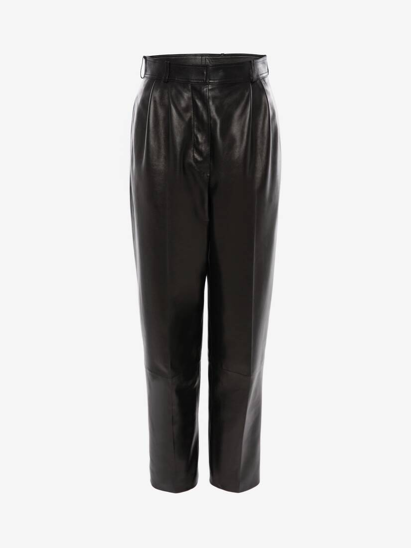 Display a large version of the product image 1 - Leather Trouser
