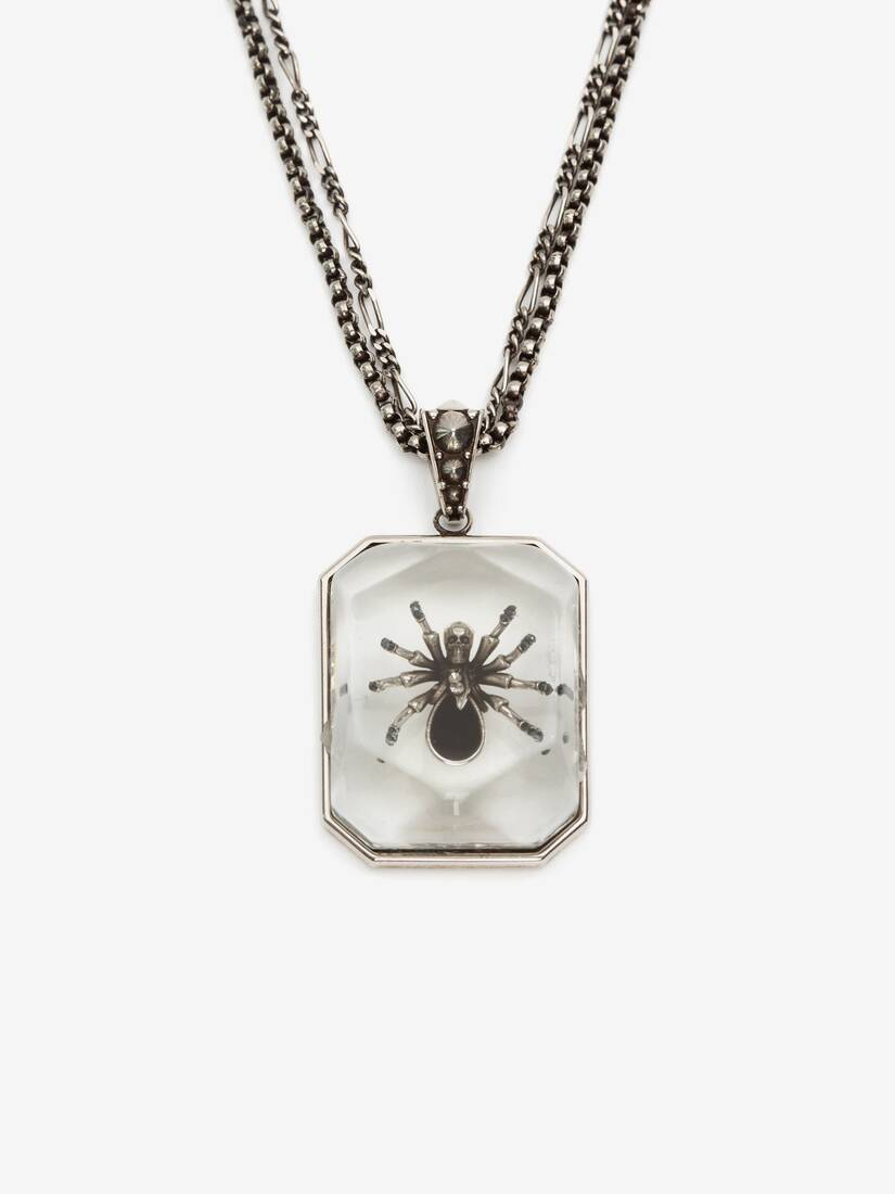Spider Resin Necklace