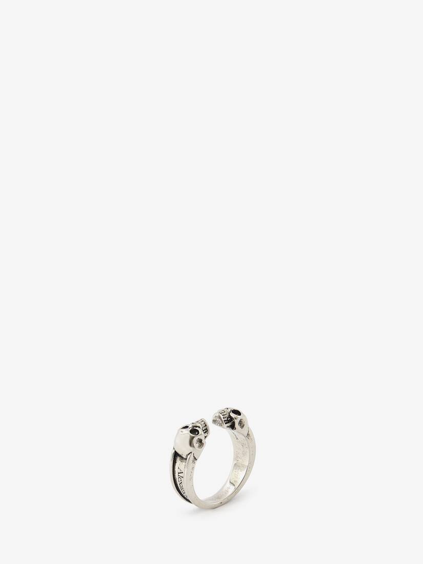 Display a large version of the product image 2 - Twin Skull Ring