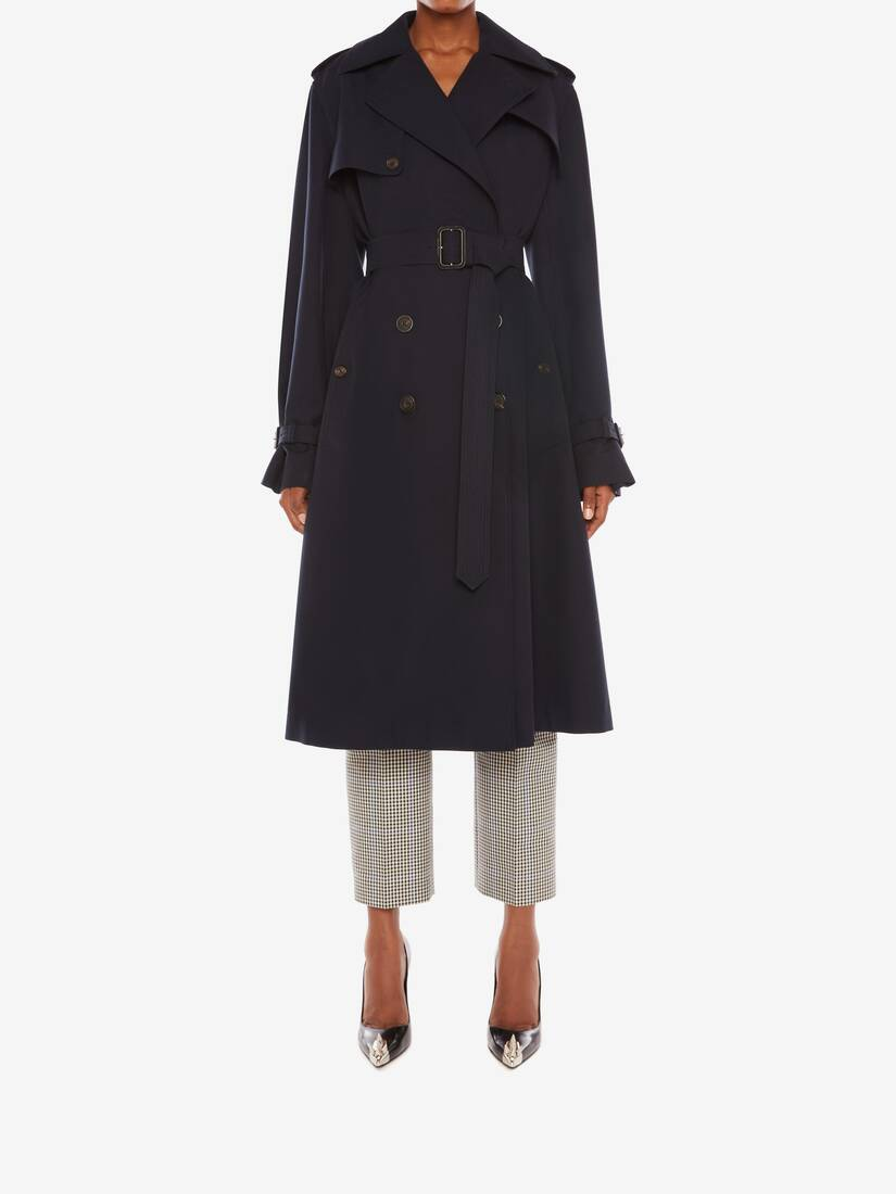Display a large version of the product image 2 - Hybrid Trench Coat