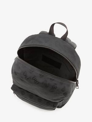 Metropolitan Biker Skull Backpack