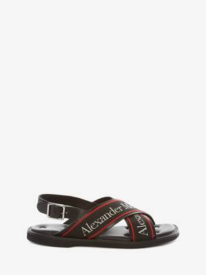 Cross-Strap Sandal