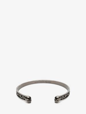 Bracelet «twin skull»