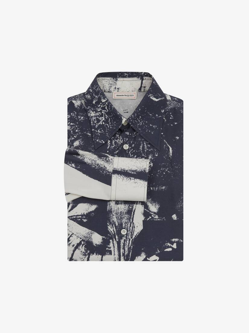 Display a large version of the product image 1 - Trompe-l'œil Printed Shirt