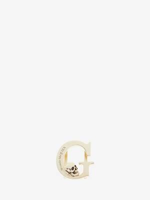 アルファベット スニーカー チャーム