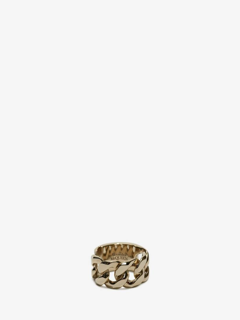 Display a large version of the product image 4 - Chain Skull Ring