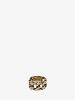 Chain Skull Ring