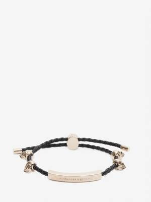 Skull friendship bracelet