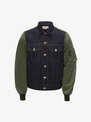 Bomber en denim