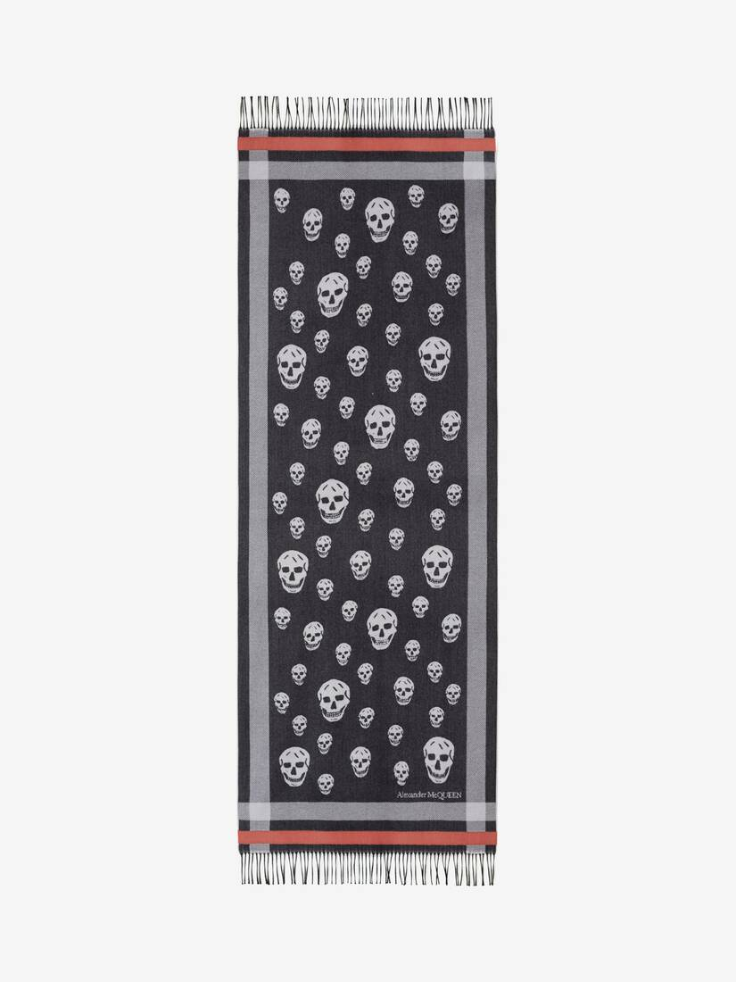 Display a large version of the product image 1 - Big Stole Skull Scarf