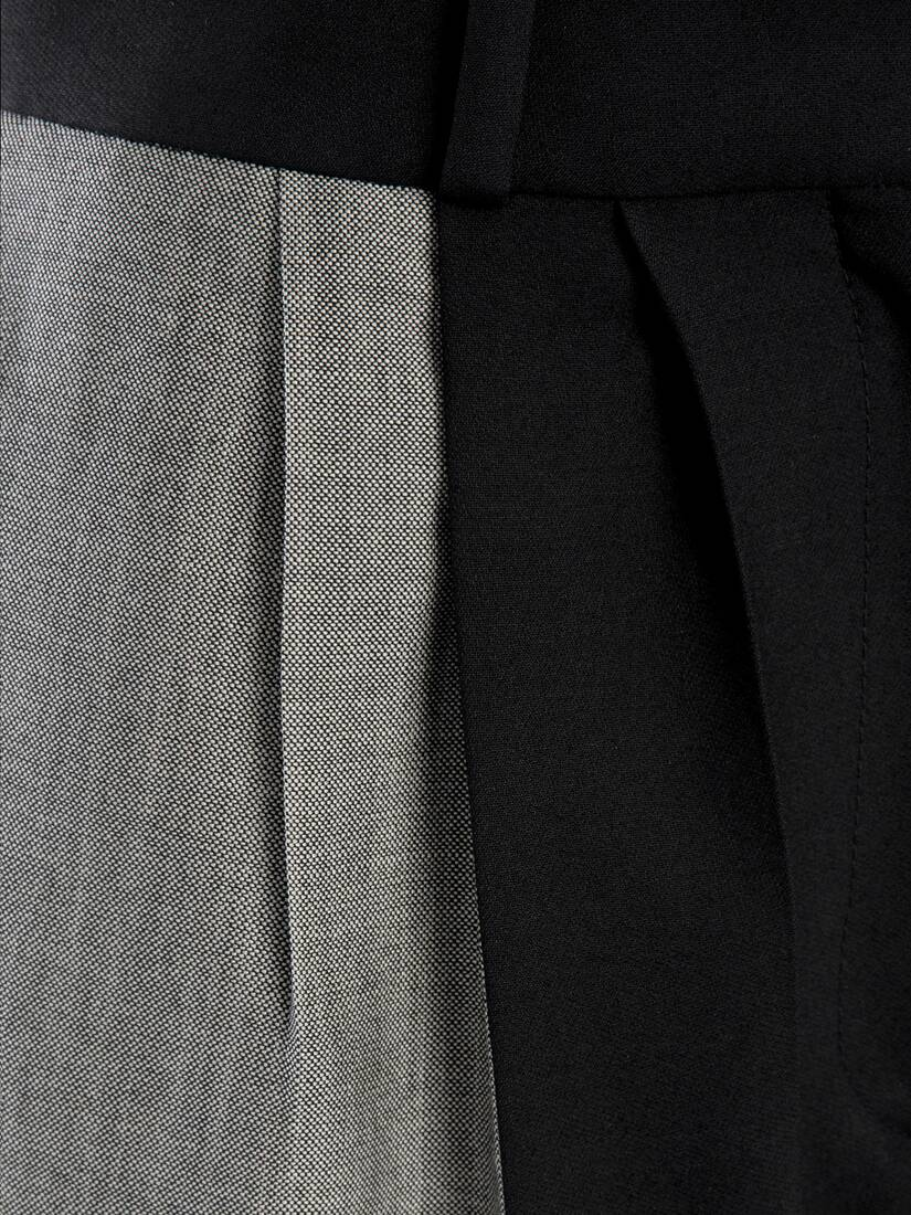 Display a large version of the product image 5 - Light Wool Silk Pannelled Trouser