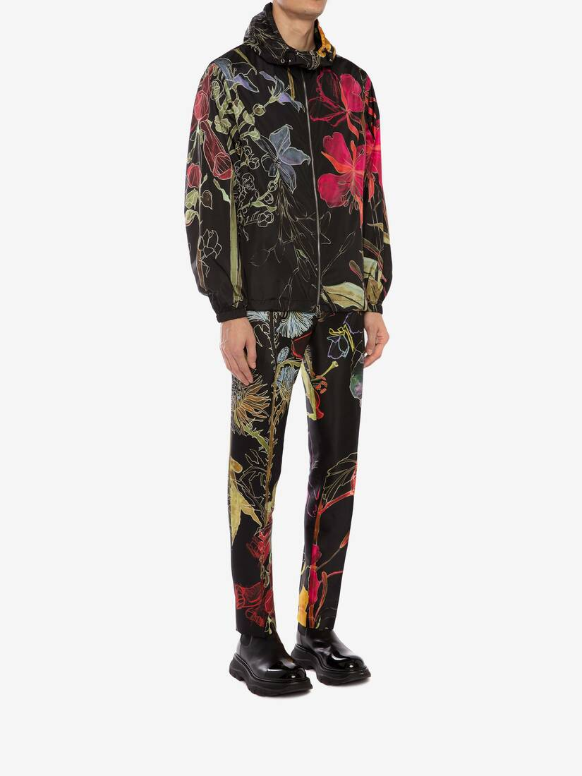 Display a large version of the product image 3 - Deconstructed Floral Windbreaker