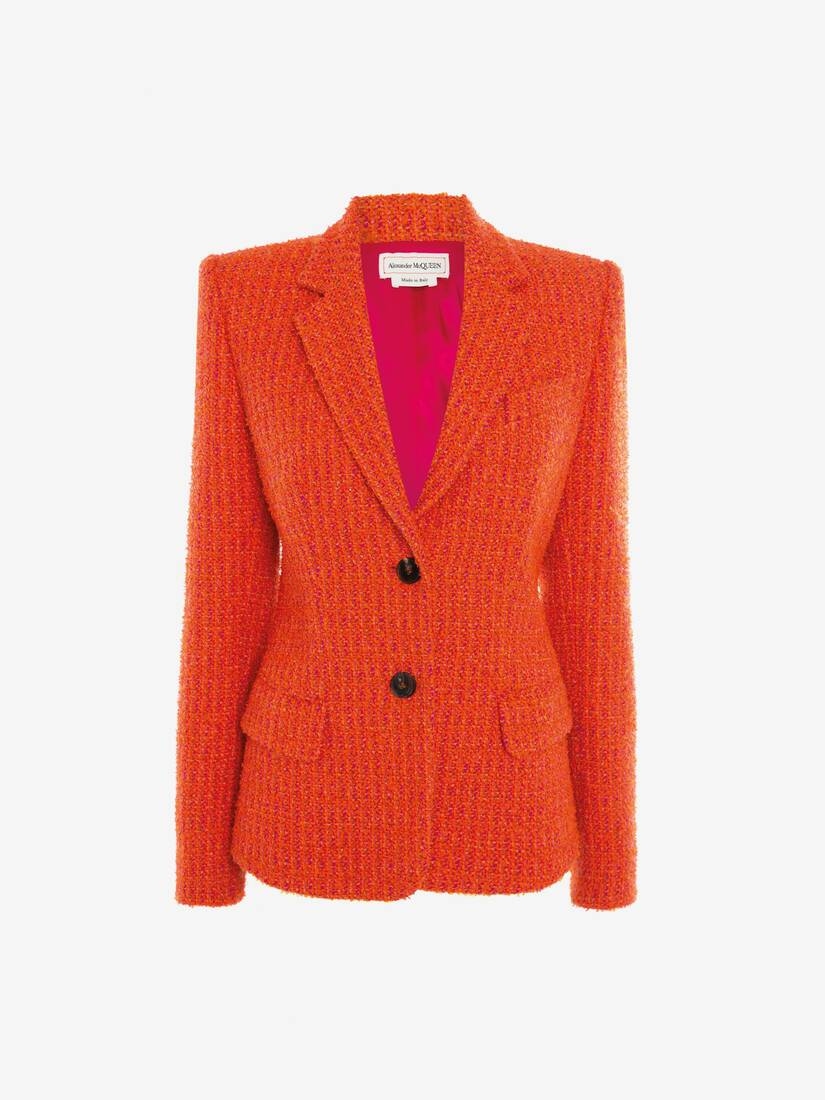 Display a large version of the product image 1 - Boucle Tweed Jacket