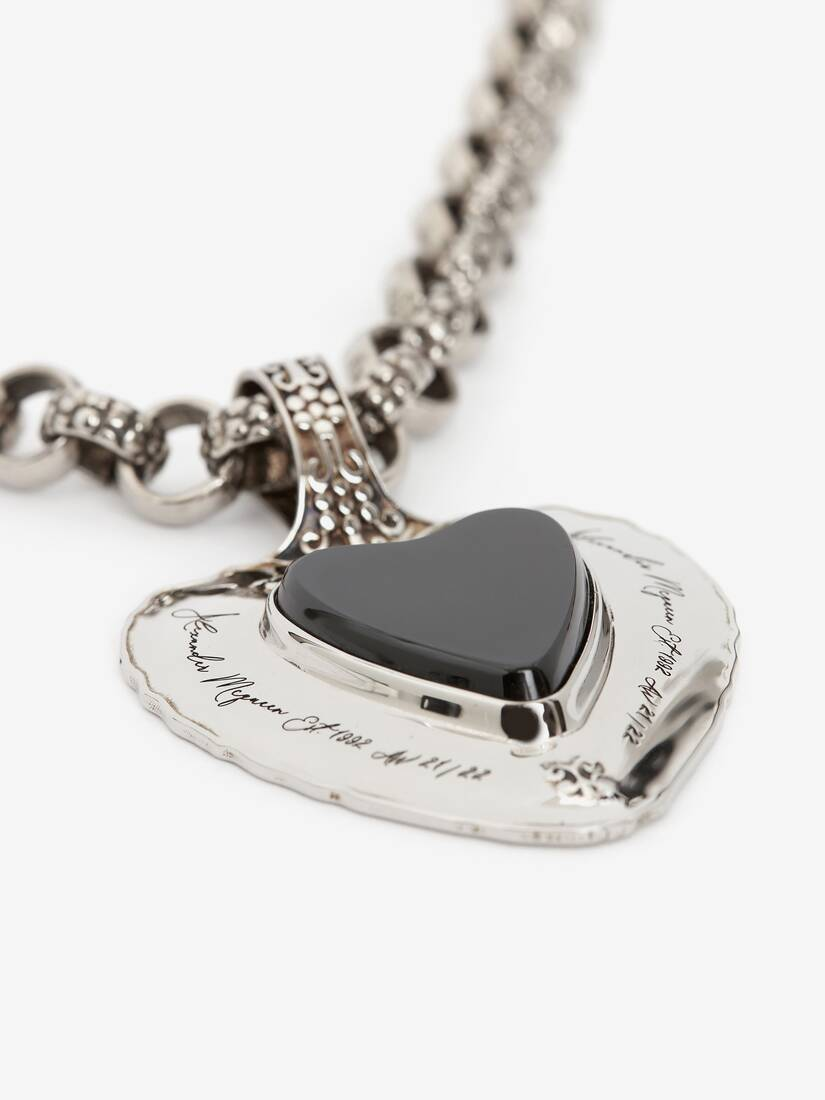 Dove and Heart Pendant