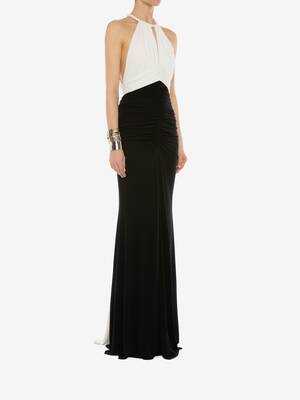 Halter neck Evening Dress