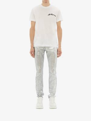 McQueen Embroidery T-Shirt