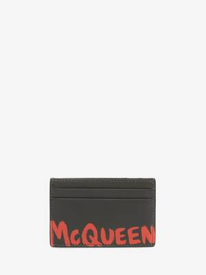 McQueen Graffiti Card Holder