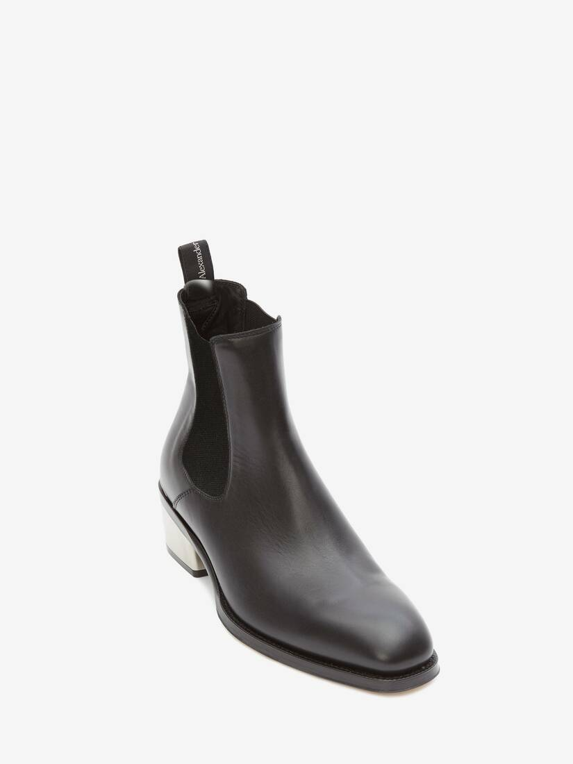 Display a large version of the product image 2 - Metal Heel Chelsea Boot