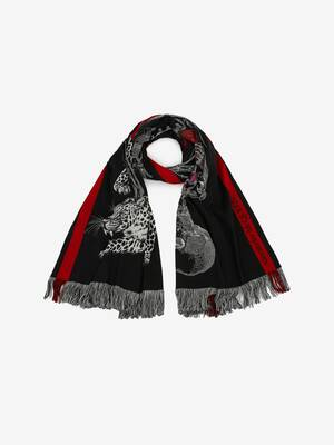 Beating Heart Skeleton Shawl