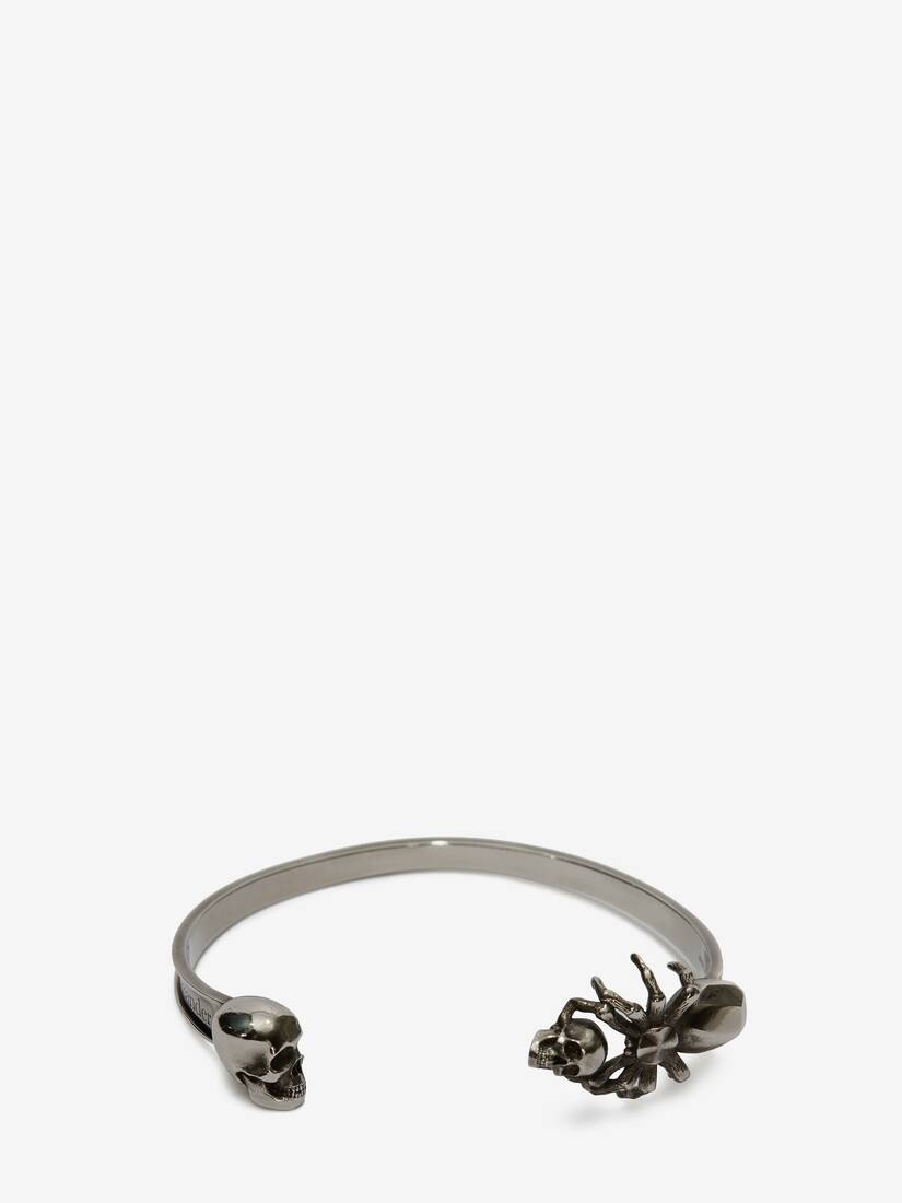 Display a large version of the product image 1 - Spider and Skull Bracelet