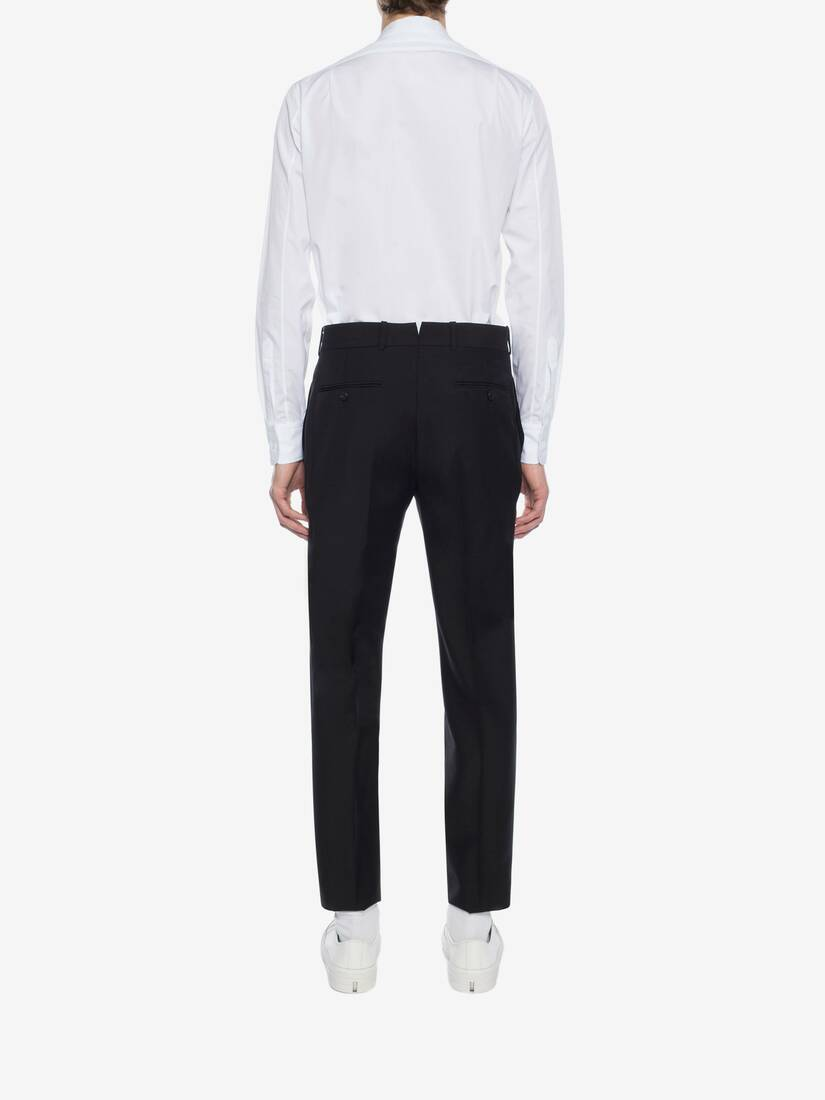 Display a large version of the product image 4 - Fitted Tailored Trousers