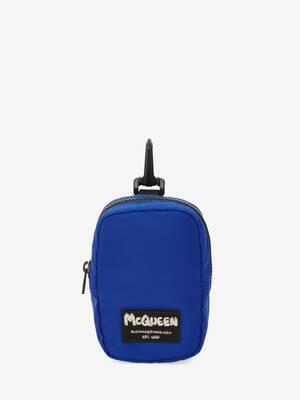 Mini pochette à étiquette McQueen