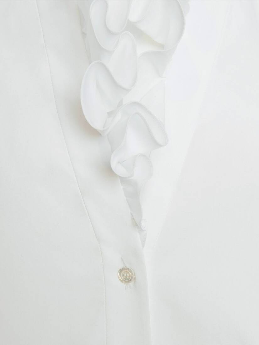 Ruffles Collar Shirt