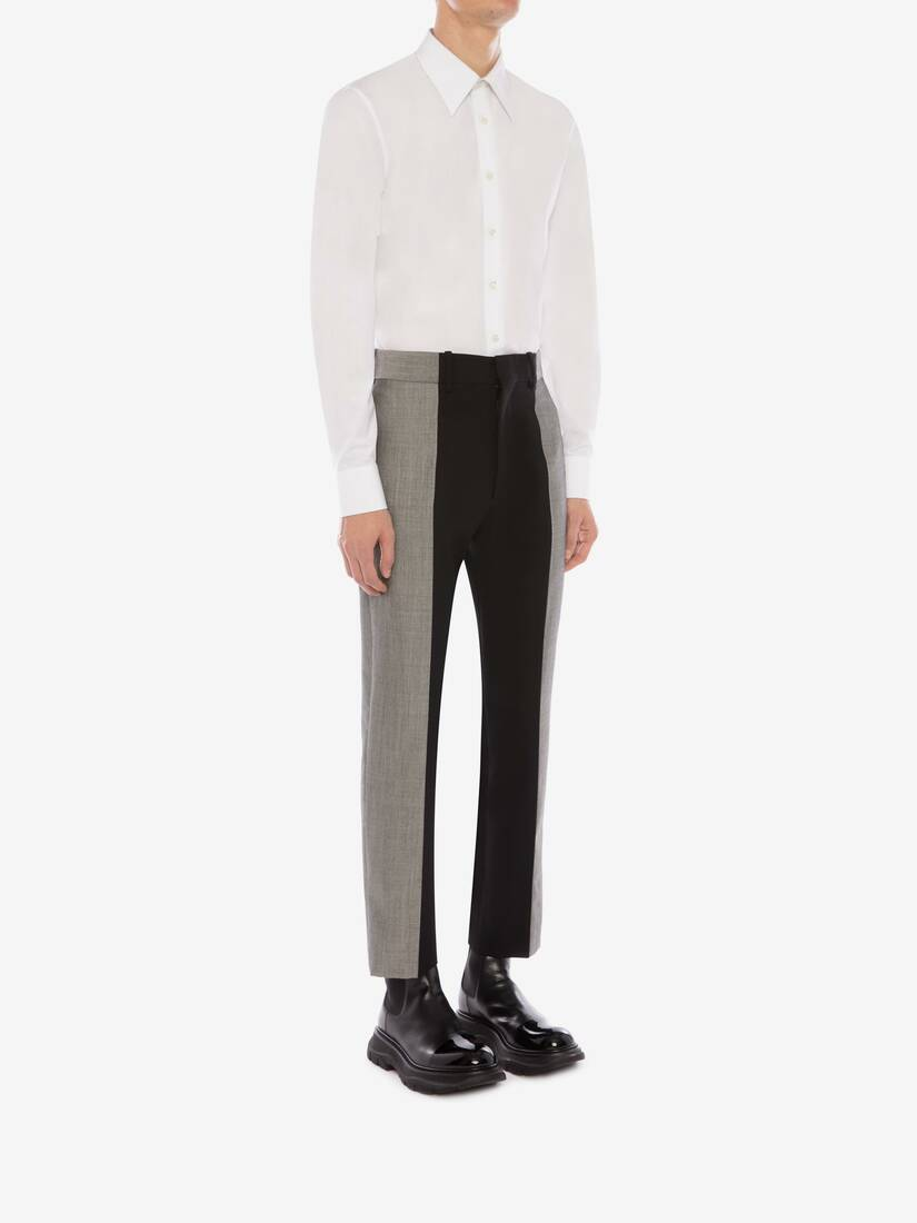 Display a large version of the product image 4 - Paneled Tailored Pants