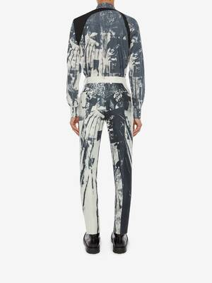 Trompe-l'œil Printed Harness Shirt