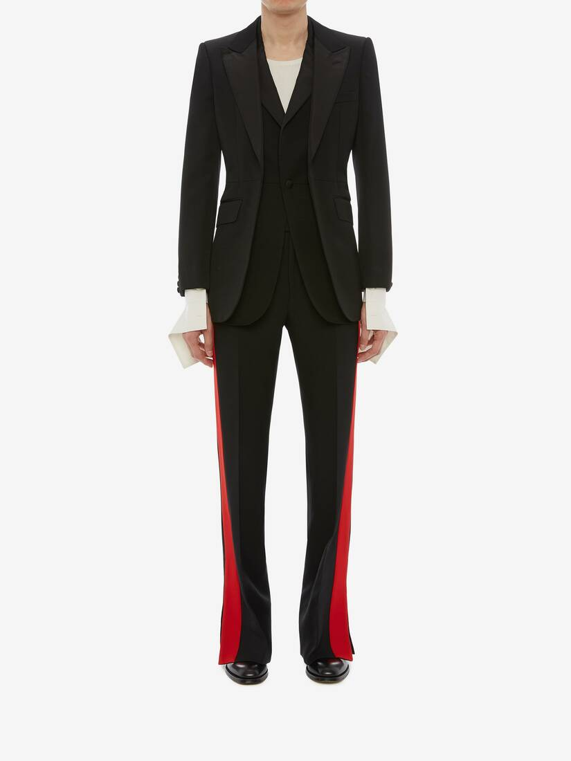 Display a large version of the product image 2 - Double-Lapel Tuxedo Jacket