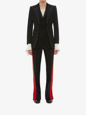 Double-Lapel Tuxedo Jacket