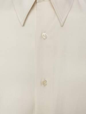 Silk Poplin Shirt