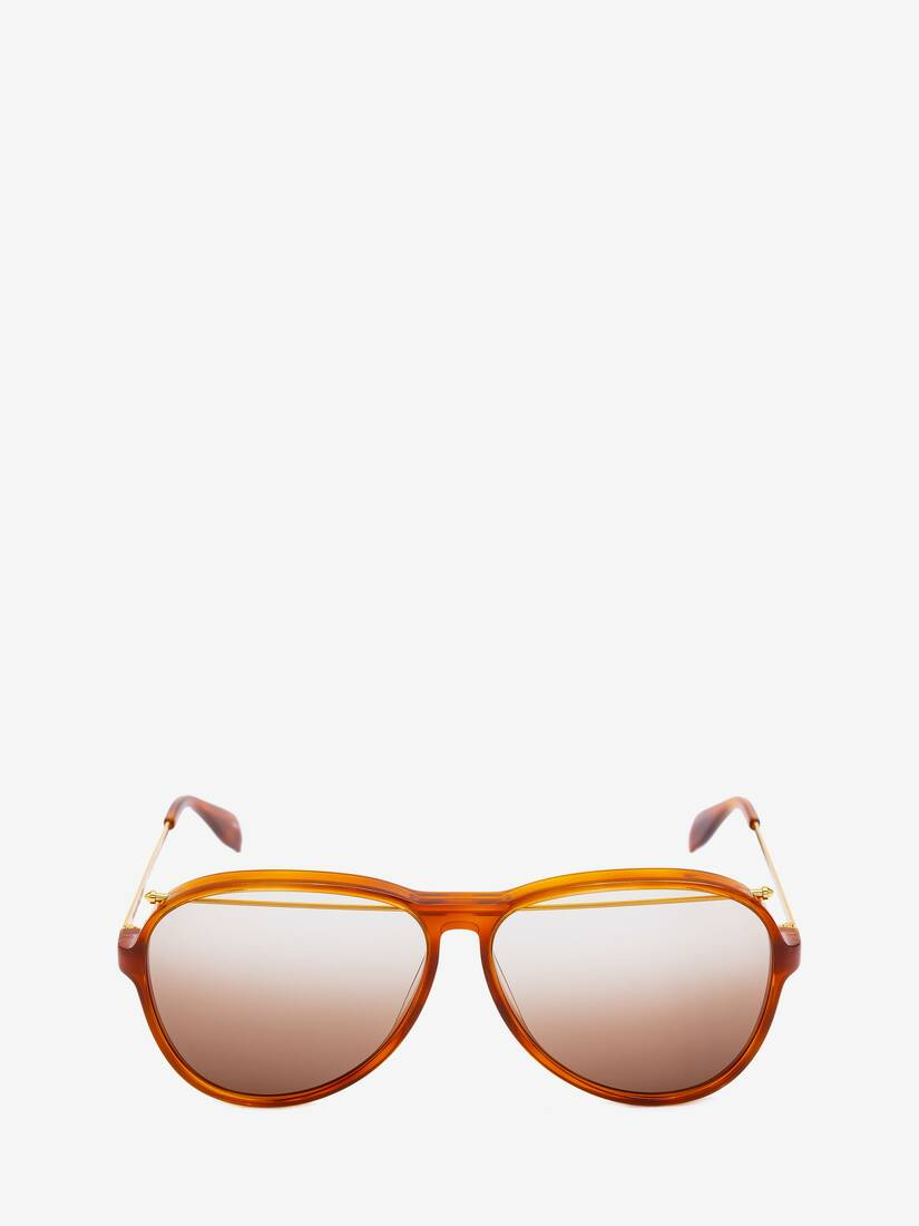 Display a large version of the product image 1 - Piercing Pilot Acetate Sunglasses