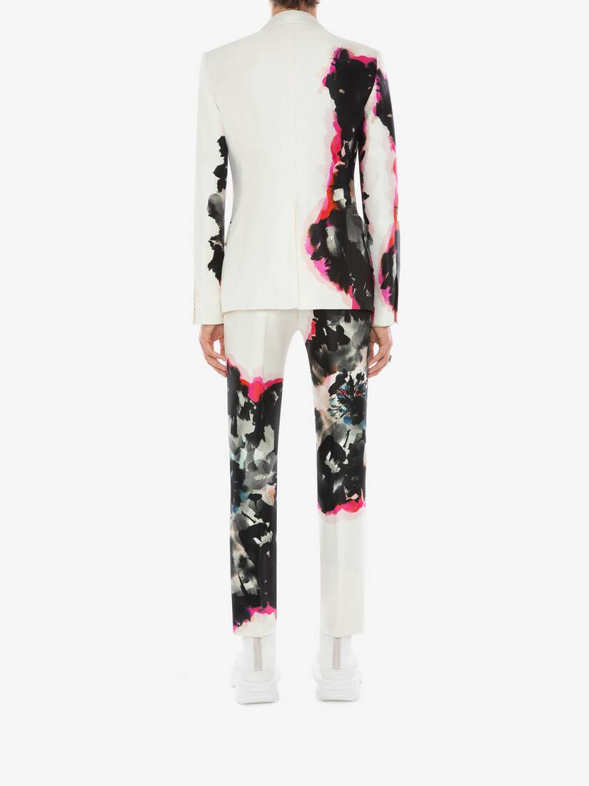 Display a large version of the product image 4 - Ink Floral Jacket
