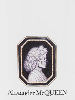 Foulard en soie Skull Portrait