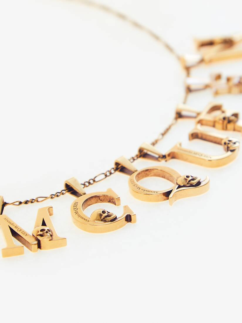 Display a large version of the product image 3 - Alphabet Pendant