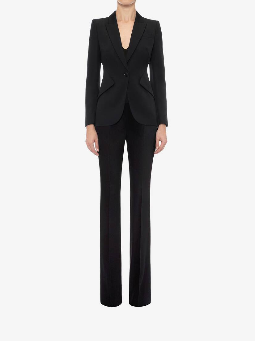 Display a large version of the product image 2 - Narrow Bootcut Trousers