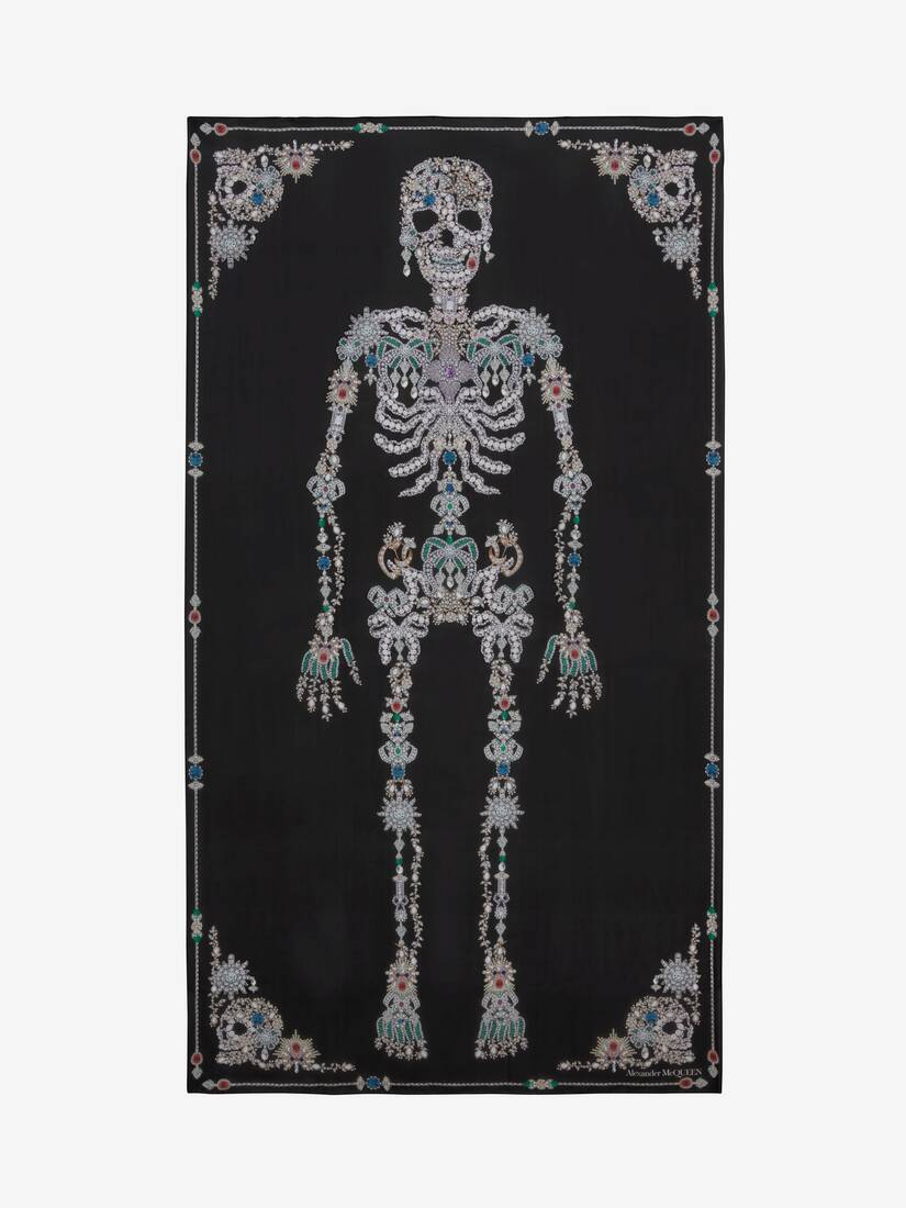 Display a large version of the product image 1 - Treasure Skeleton Shawl
