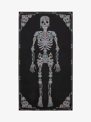 Treasure Skeleton Shawl