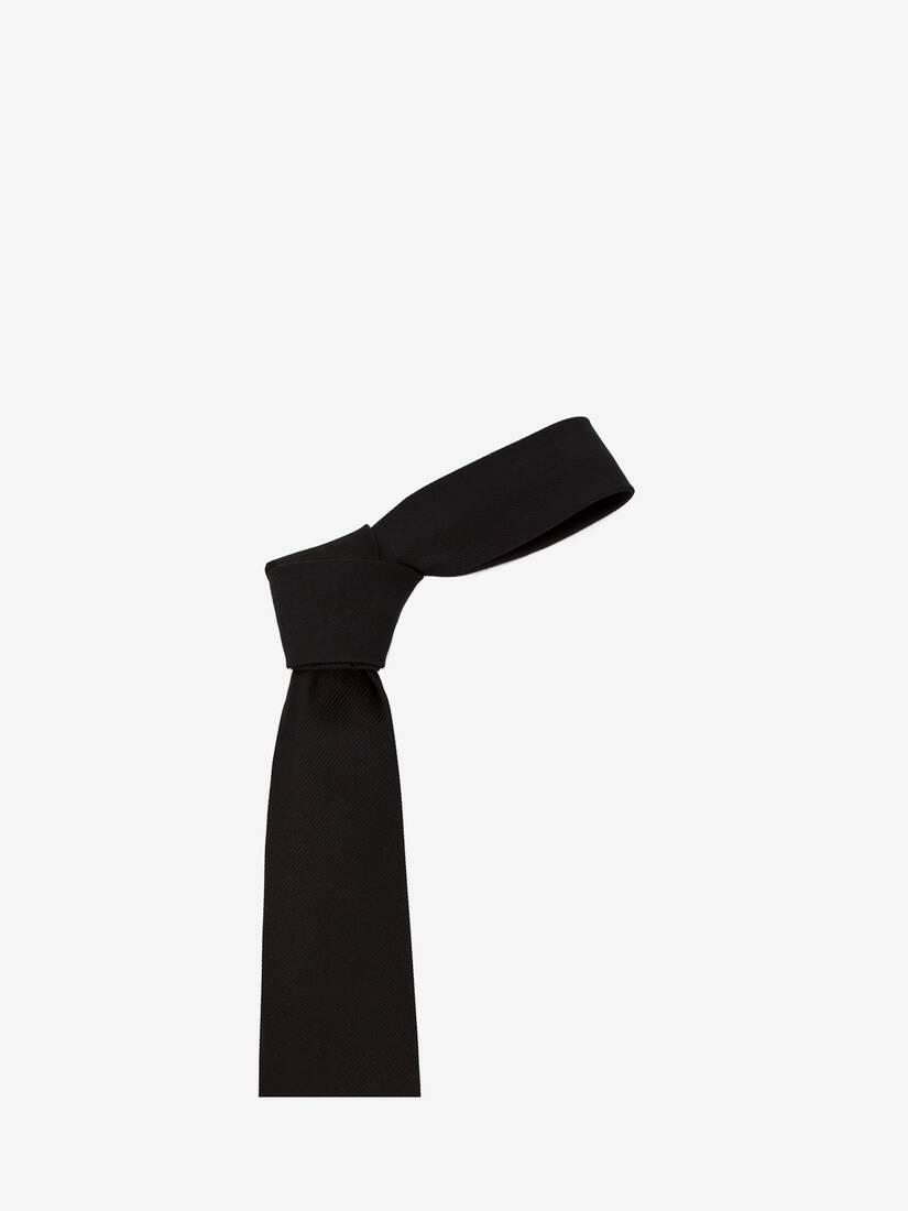 Cravate à broderie chardon doré