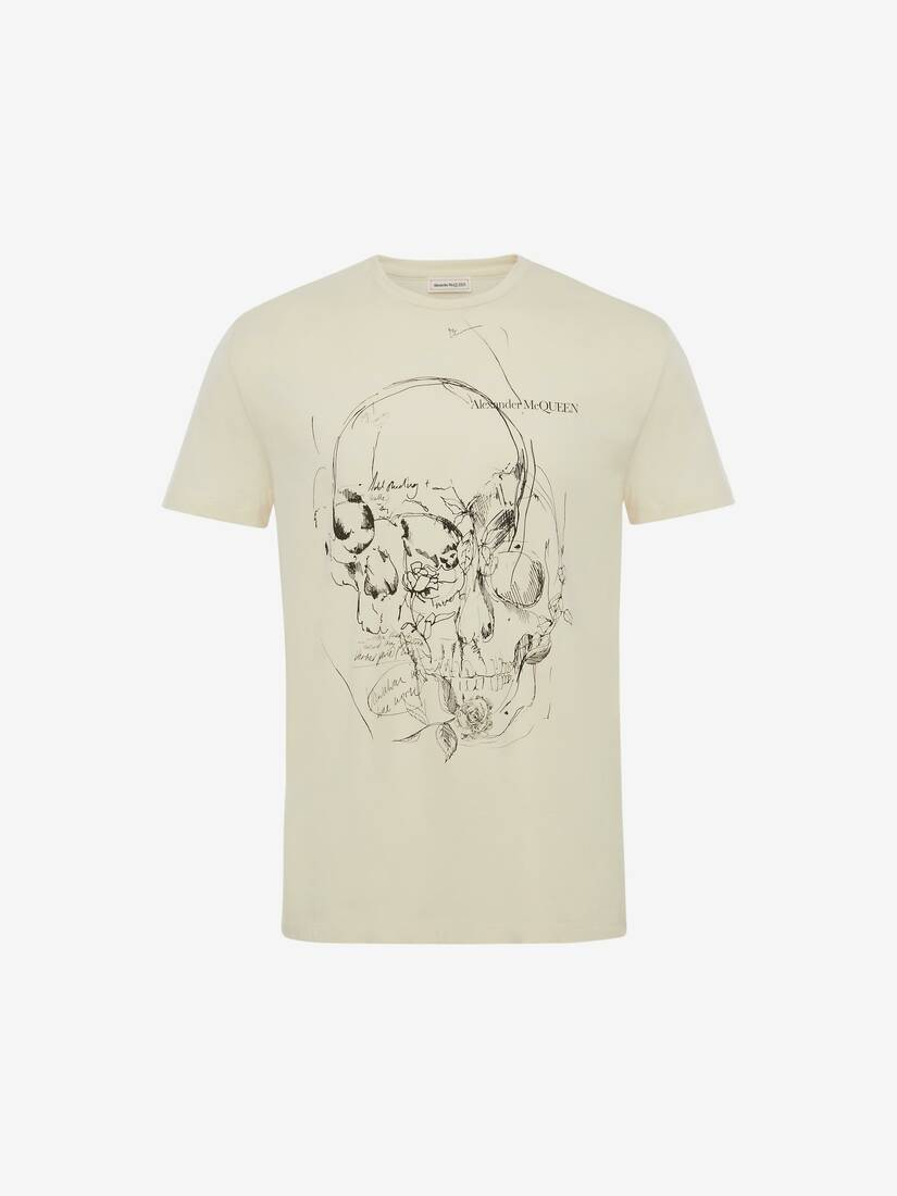 Sketchbook Skull T-Shirt