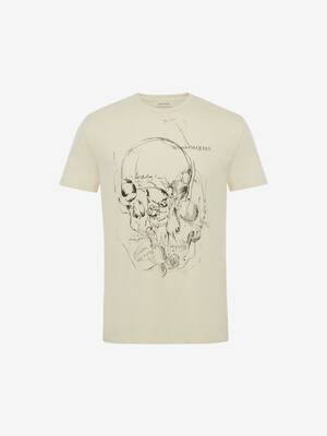 T-Shirt Sketchbook Skull