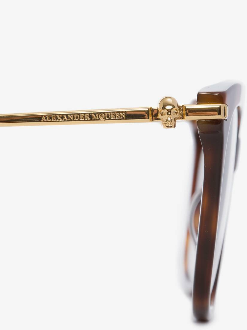 Display a large version of the product image 4 - Skull Square Acetate Sunglasses