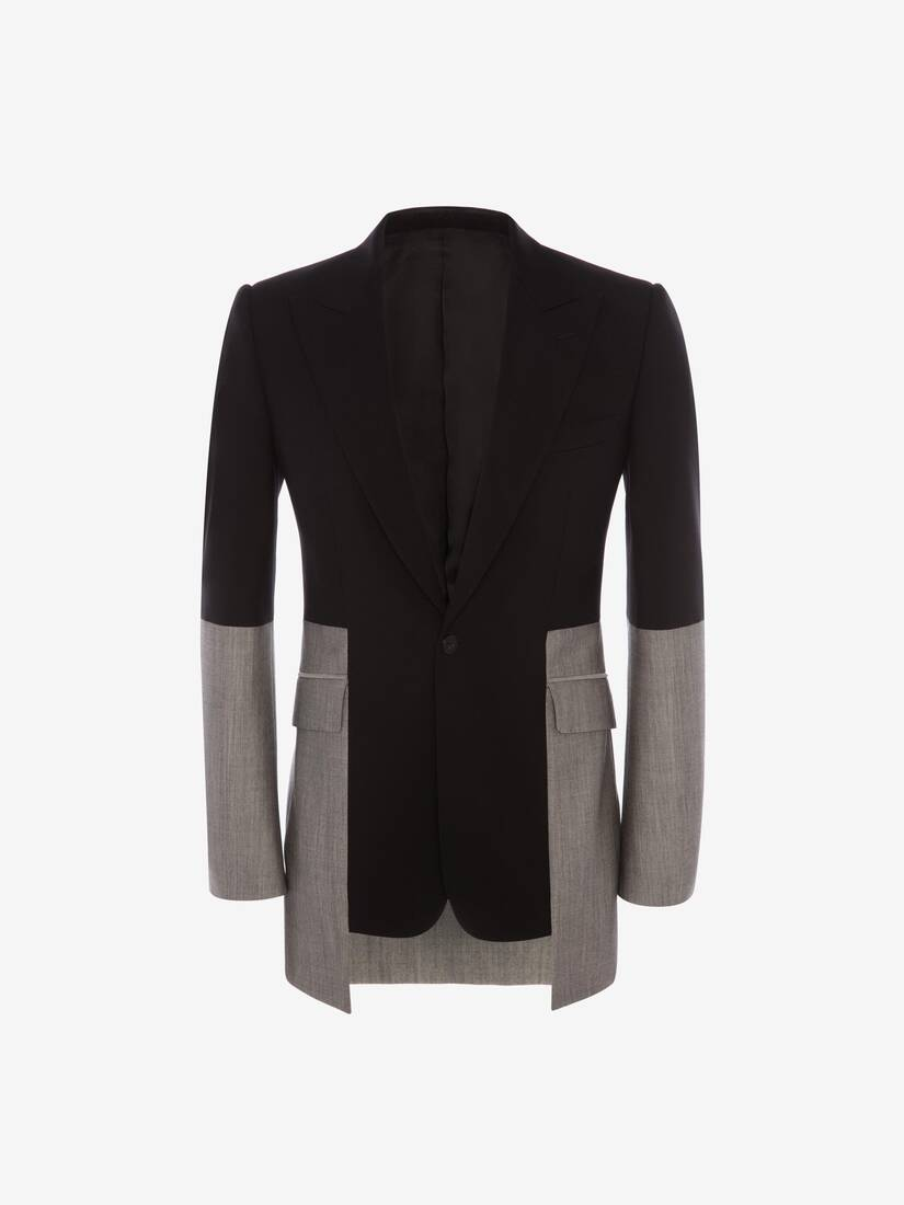 Display a large version of the product image 1 - Panelled Tailored Jacket