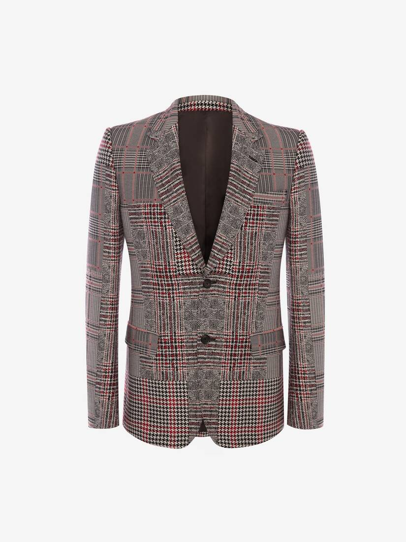 Patchwork Prince of Wales Jacket