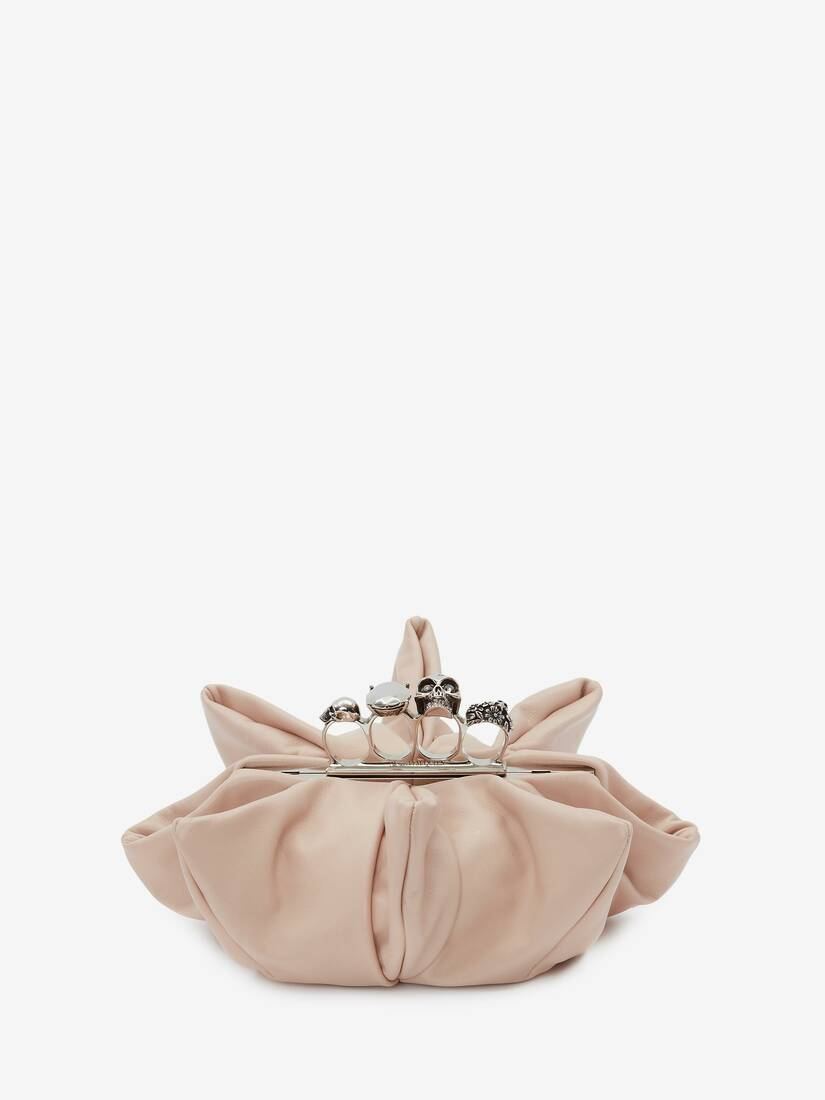 Skull Four-Ring Flower Clutch
