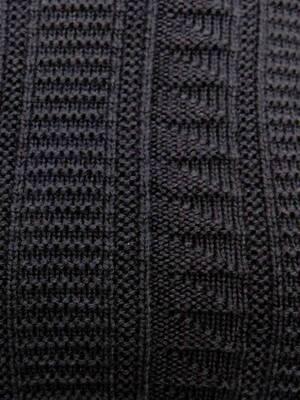 Cut-Out Guernsey Knit Jumper