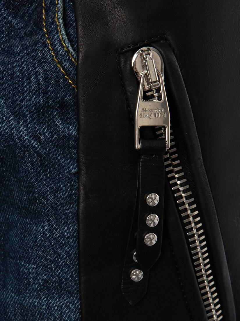 Display a large version of the product image 5 - Biker Denim Pants